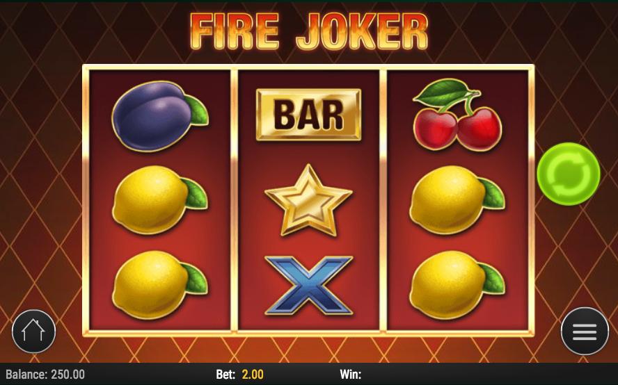 Fire Joker Slots Screenshot
