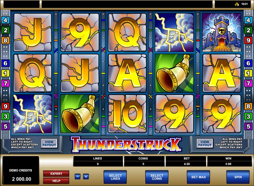 Thunderstruck Screenshot